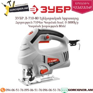 ЗУБР Л-710-80 Էլեկտրական նրբասղոց