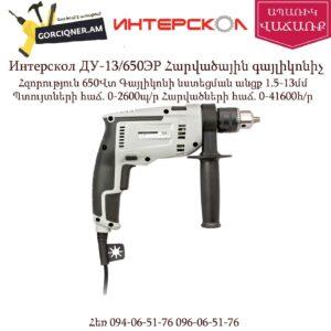 Интерскол ДУ-13/650ЭР Հարվածային գայլիկոնիչ