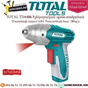 TOTAL TD4486 Պտուտակադարձիչ 4,8Վ