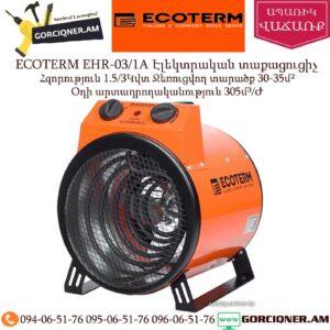 ECOTERM EHR-03/1A Էլեկտրական տաքացուցիչ