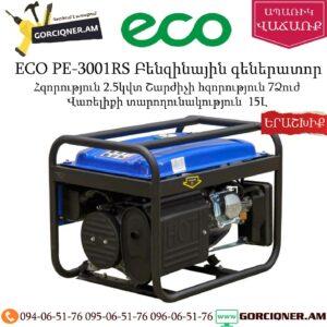 ECO PE-3001RS Բենզինային գեներատոր 2,5Կվտ