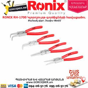 RONIX RH-1700 Կլորոշուրթ գործիքների հավաքածու
