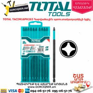 TOTAL TACIM16PH263 Հարվածային պտուտակադարձիչի կցիչ