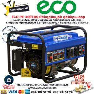 ECO PE-4001RS Բենզինային գեներատոր