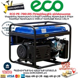 ECO PE-7001RS Բենզինային գեներատոր