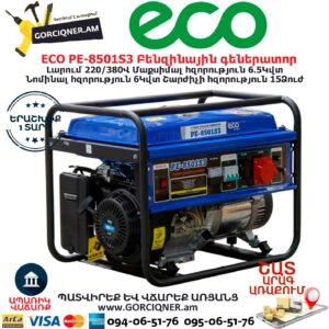 ECO PE-8501S3 Բենզինային գեներատոր